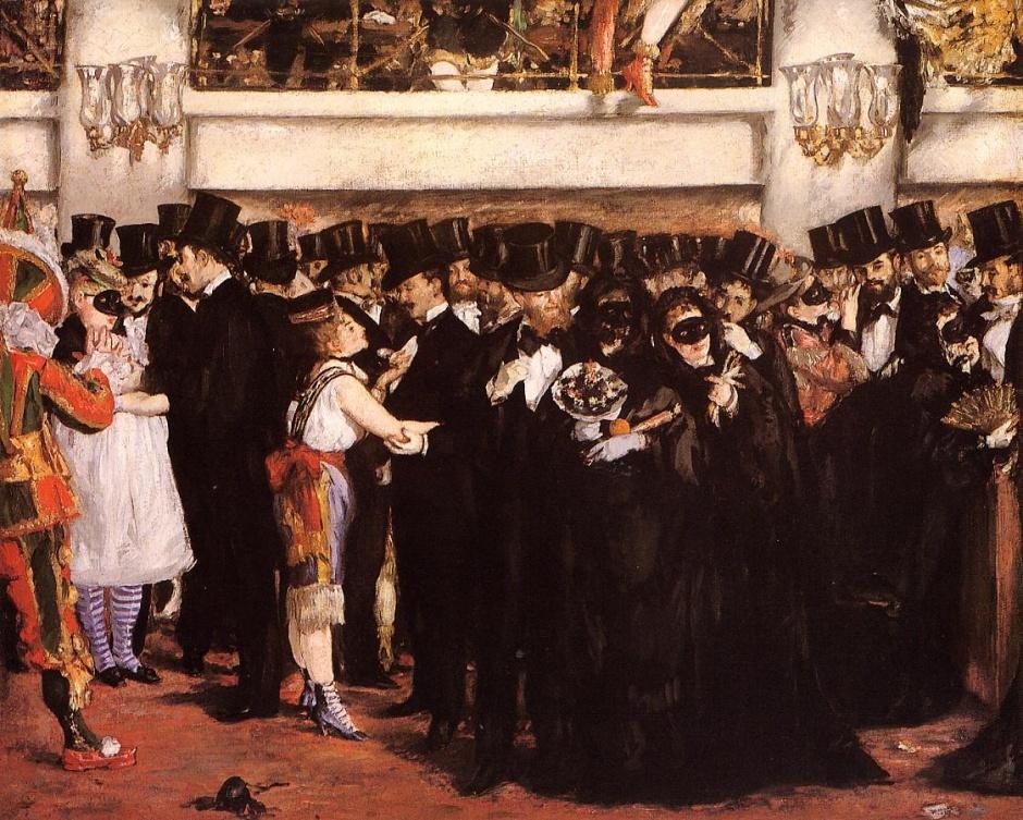 Edouard ManetBaile de máscaras en la Ópera© Courtesy The National Gallery of Art, Washington