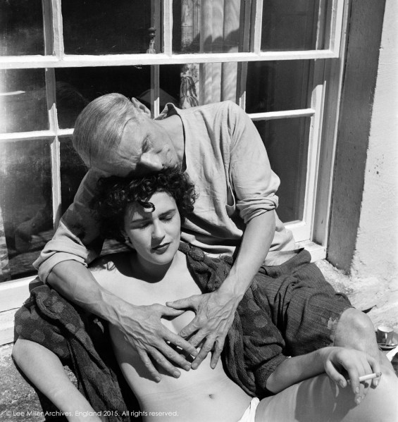 Leonora Carrington and Max Ernst, Lambe Creek, Cornwall, England, 1937