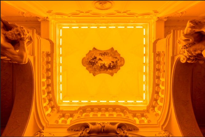 Yellow corridor, 2015 The Winter Palace of Prince Eugene of Savoy, Vienna 2015 Photo: Anders Sune Berg