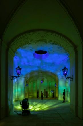 Die organische und kristalline Beschreibung, 2015 The Winter Palace of Prince Eugene of Savoy, Vienna 2015 Photo: Anders Sune Berg