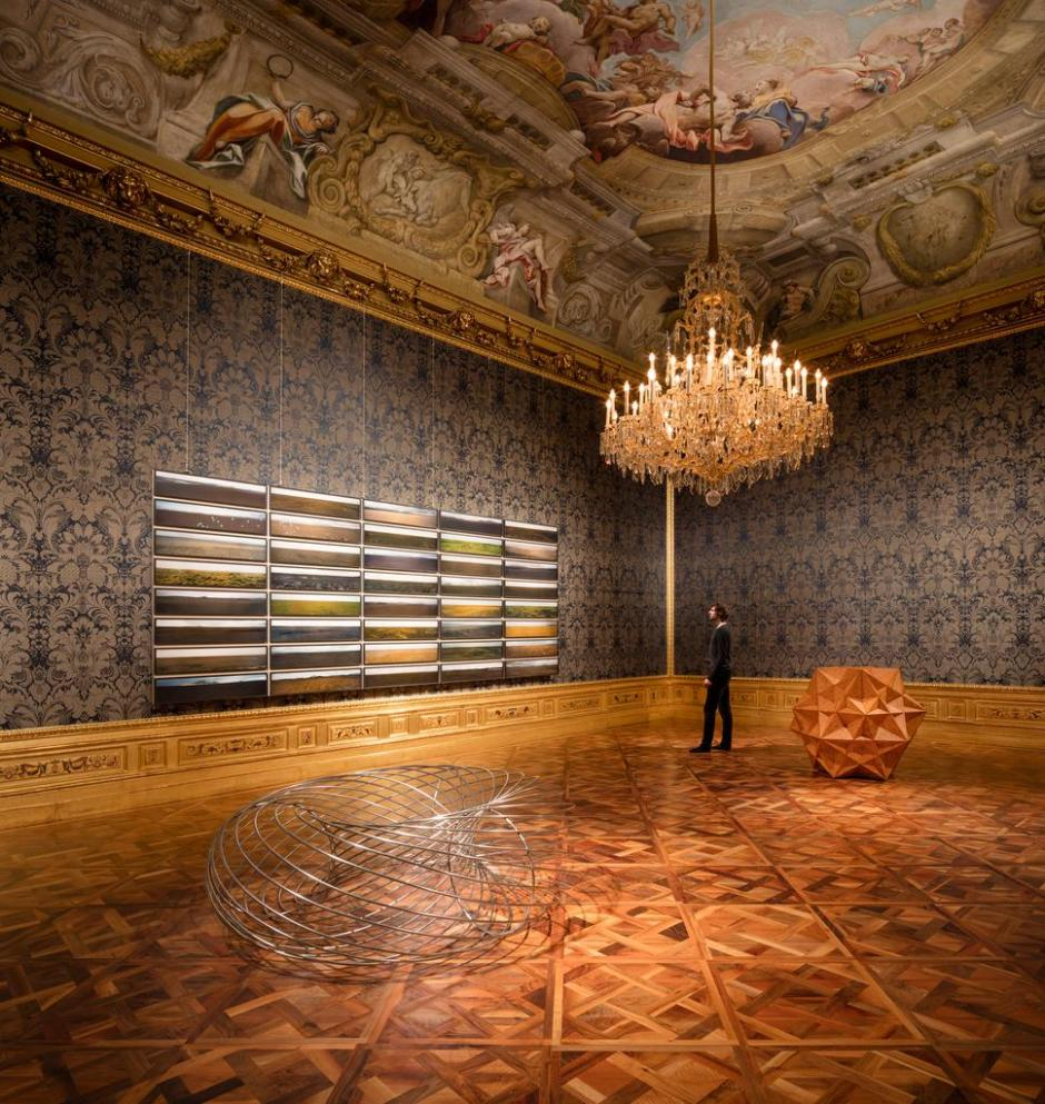 Installation view, 2015 The Winter Palace of Prince Eugene of Savoy, Vienna 2015 Photo: Anders Sune Berg