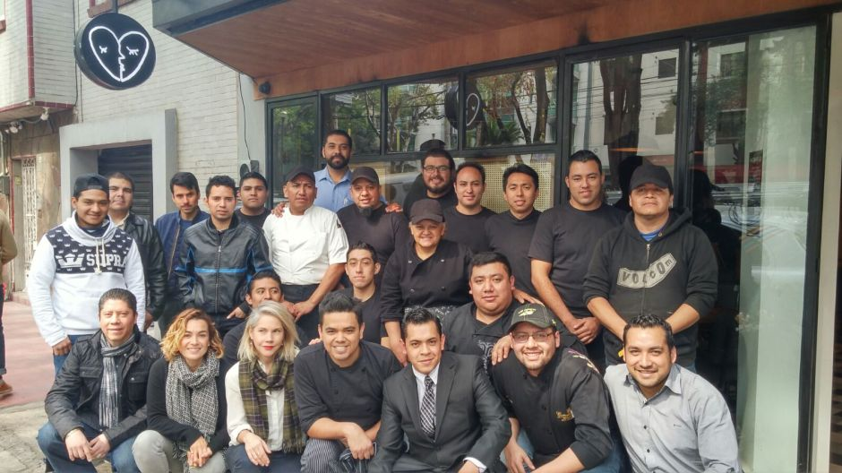 Staff completo de Belmondo Condesa