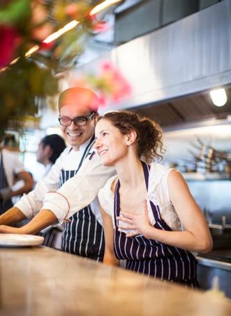 Chef Elena Reygadas y Chef Victor Jiménez