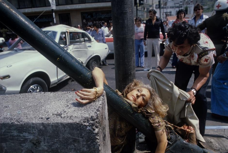 – Ciudad de México, 29 de abril de 1979.  Enrique Metinides ©. Cortesía del artista y 212 BERLINFILMS