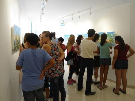 Exposición Cortesía Alianza Francesa