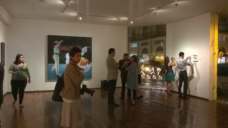 Exposición Noir Foncé Alianza Francesa