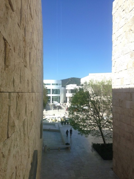 Vista Getty Museum © L´ENFER DES ARTS MAGAZINE