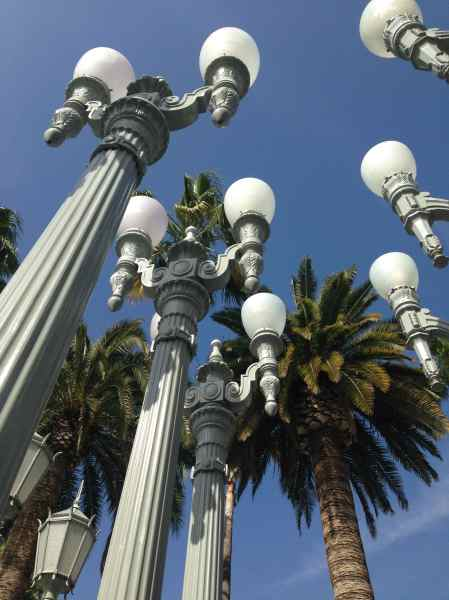 LACMA. Chris Burden Lights © L´ENFER DES ARTS MAGAZINE