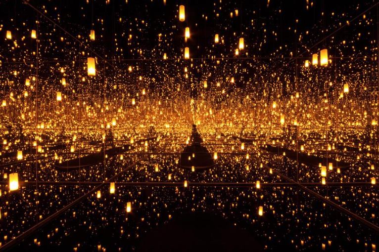 Yayoi Kusama, Aftermath of Obliteration of Eternity, 2009. Image © Yayoi Kusama. Courtesy of David Zwirner, New York; Ota Fine Arts, Tokyo/Singapore; Victoria Miro, London; KUSAMA Enterprise.