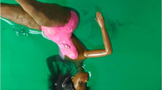Lauren Kelley, Backside Float 2006, digital c print 24 x 36 inches
