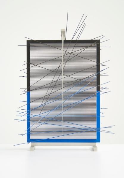 Jesus Rafael Soto, Galerie Hans Mayer.