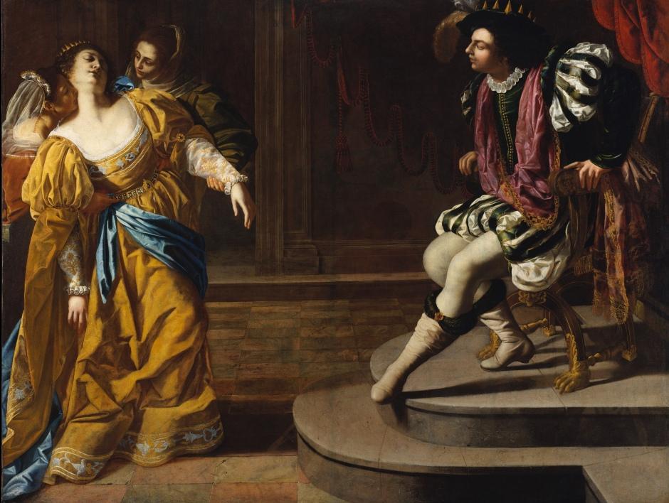 Artemisa Gentileschi. Ester e Assuero, 1626-29 ca. Óleo sobre tela The Metropolitan Museum of Art, 13 14 gift of Elinor Torrance Ingersoll, 1969