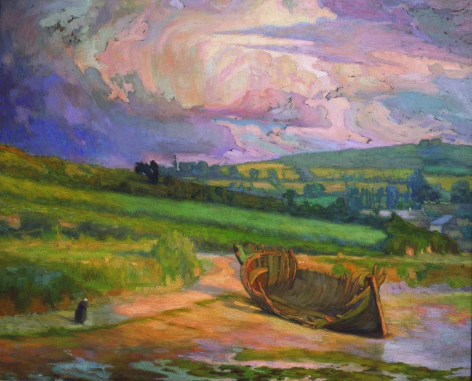 Diego Rivera, Después de la tormenta, 1910
