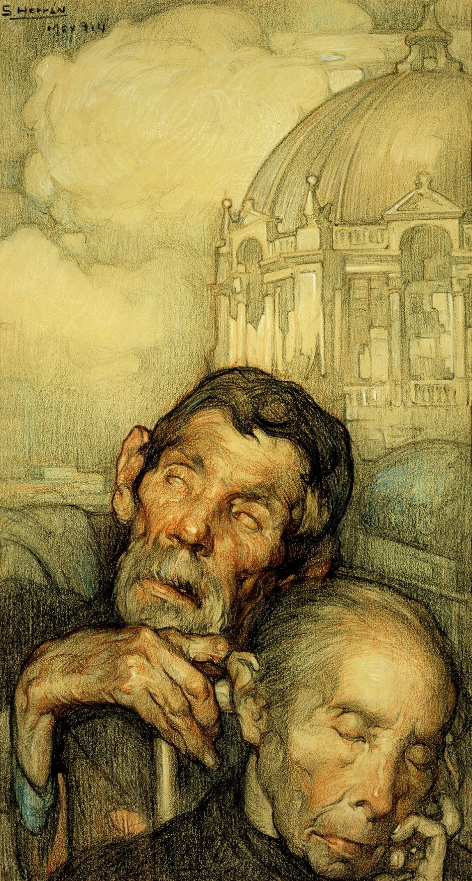 Saturnino Herrán, Los ciegos