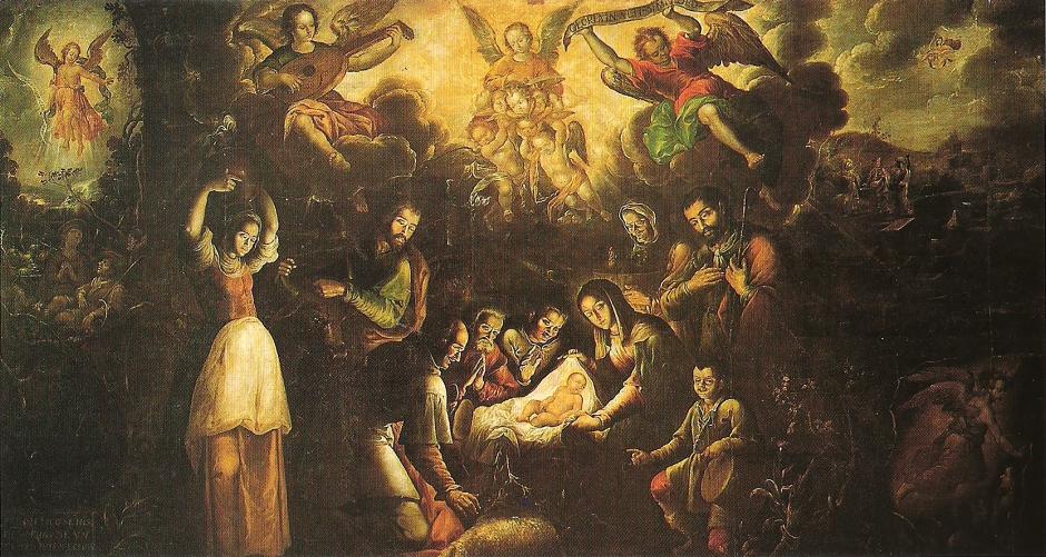 Pedro Ramírez La adoración de los pastores